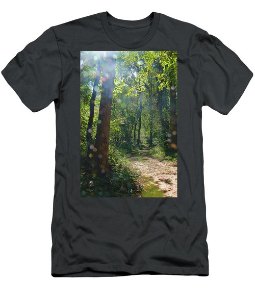 Orbs In The Woods Men's T-Shirt (Athletic Fit)