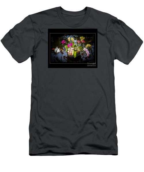 Men's T-Shirt (Slim Fit) featuring the photograph Orchid Island by Darleen Stry