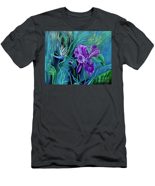 Orchid Jungle Men's T-Shirt (Athletic Fit)