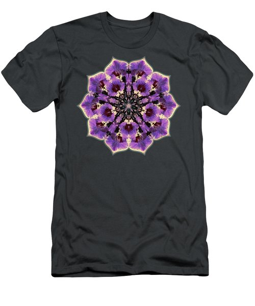 Orchid Lotus Men's T-Shirt (Athletic Fit)