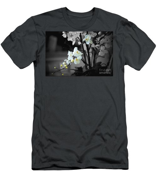 Orchid Selective Color Men's T-Shirt (Athletic Fit)
