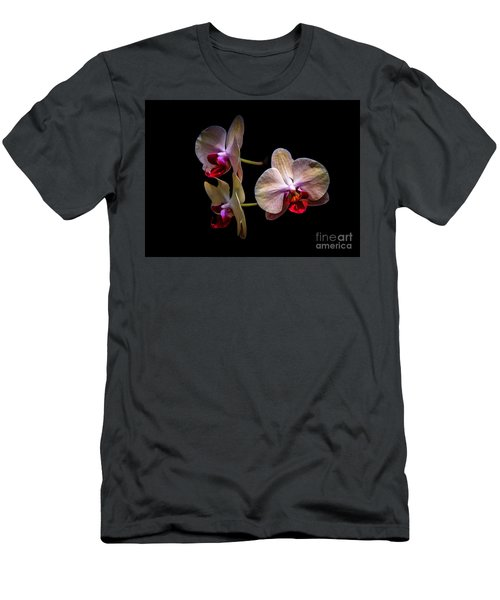 Orchid Trio  Men's T-Shirt (Athletic Fit)