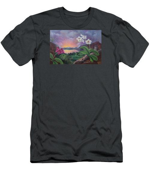 Orchids And Mystery Men's T-Shirt (Athletic Fit)