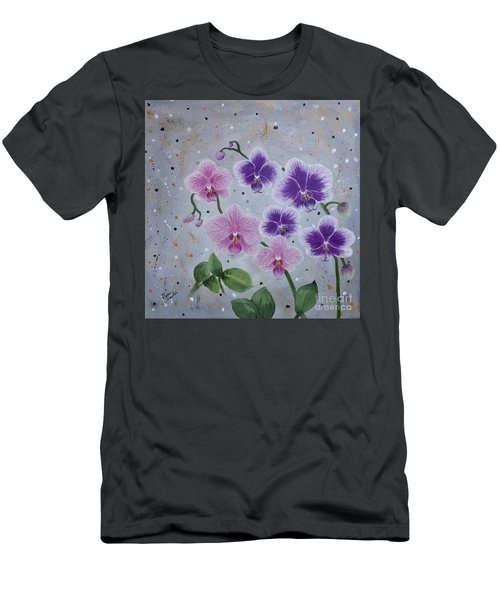 Orchids Galore Men's T-Shirt (Athletic Fit)