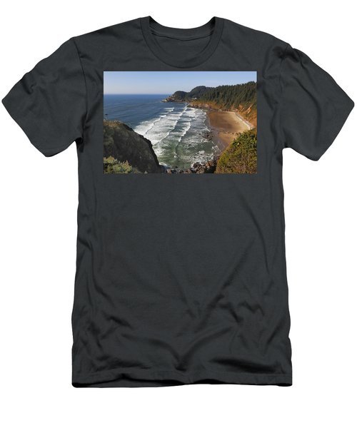 Oregon Coast No 1 Men's T-Shirt (Athletic Fit)