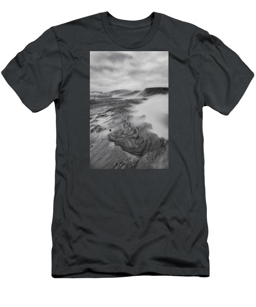 Men's T-Shirt (Slim Fit) featuring the photograph Oregon Dune Wasteland 2 by Ryan Manuel