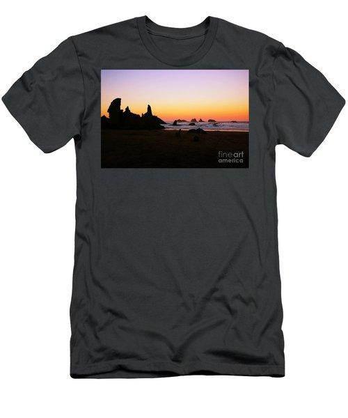 Oregon Sunrise Men's T-Shirt (Athletic Fit)