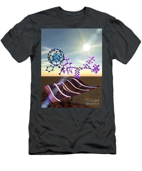 Organic Solar Cells Men's T-Shirt (Athletic Fit)