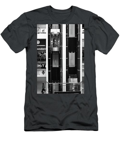 Men's T-Shirt (Athletic Fit) featuring the photograph Organics In The Machine by John Williams