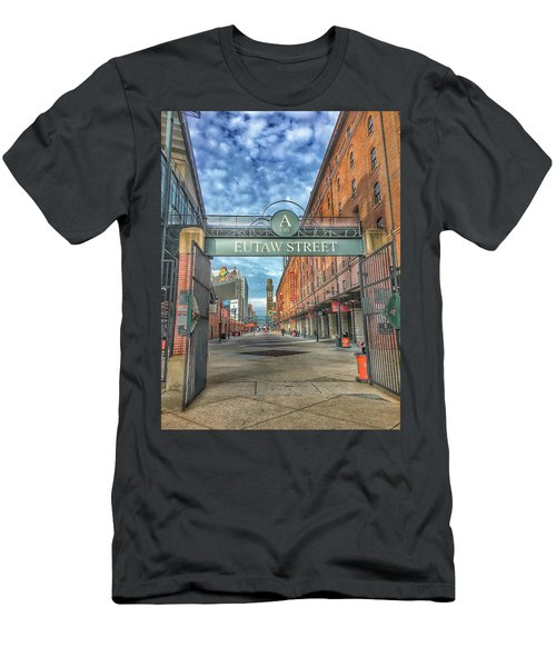 Oriole Park At Camden Yards - Eutaw Street Gate Men's T-Shirt (Athletic Fit)