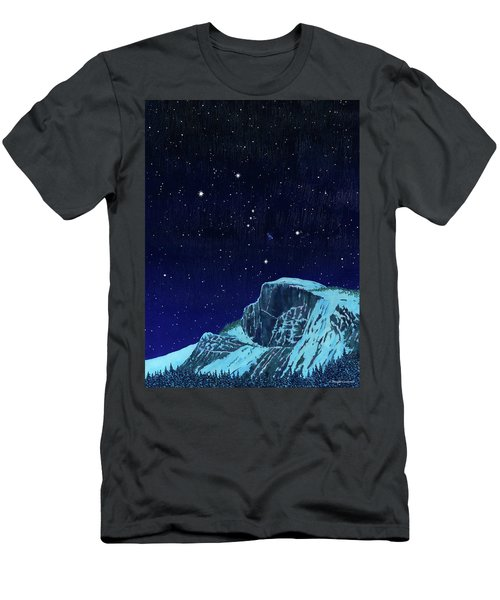Orion Over Yosemite Men's T-Shirt (Athletic Fit)