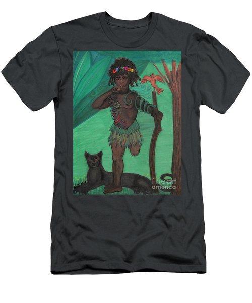 Osain Men's T-Shirt (Athletic Fit)