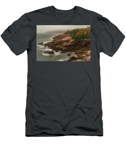 Otter Cliffs Men's T-Shirt (Athletic Fit)