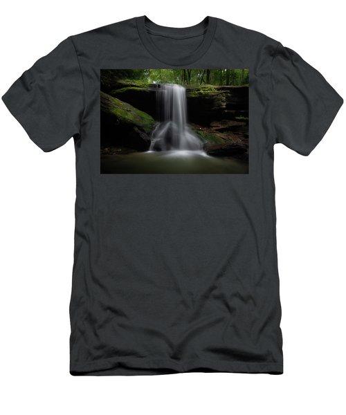 Otter Falls - Seven Devils, North Carolina Men's T-Shirt (Athletic Fit)