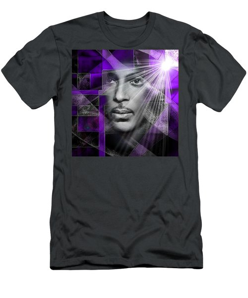 Our Beautiful Purple Prince Men's T-Shirt (Athletic Fit)