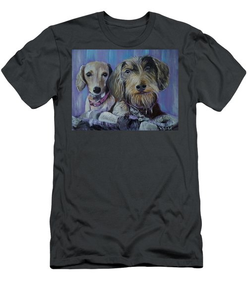 Our Pups Men's T-Shirt (Athletic Fit)