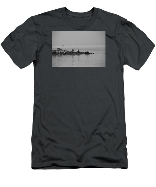 Men's T-Shirt (Slim Fit) featuring the photograph Our Quiet Chats About Life by Jez C Self