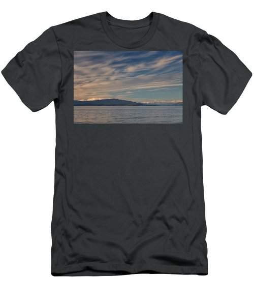 Out Like A Lamb Men's T-Shirt (Slim Fit) by Randy Hall