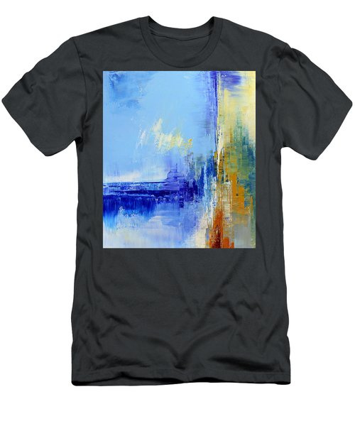 Out Of The Blue Men's T-Shirt (Slim Fit) by Tatiana Iliina