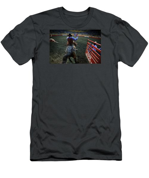 Out Of The Chute Men's T-Shirt (Athletic Fit)