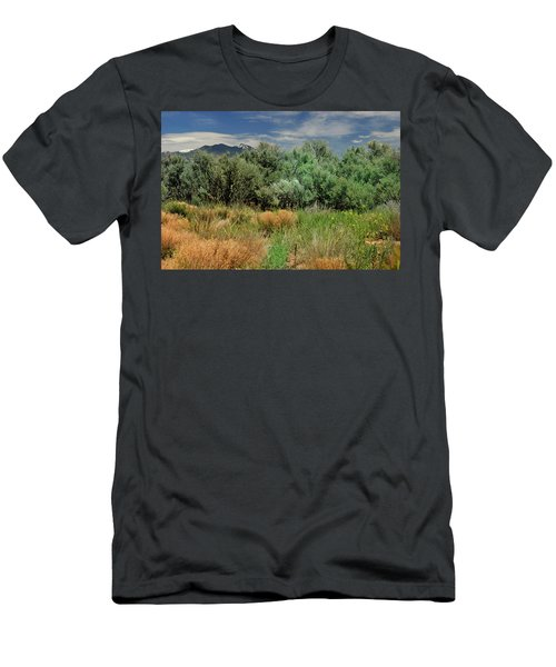 Out On The Mesa 1 Men's T-Shirt (Athletic Fit)
