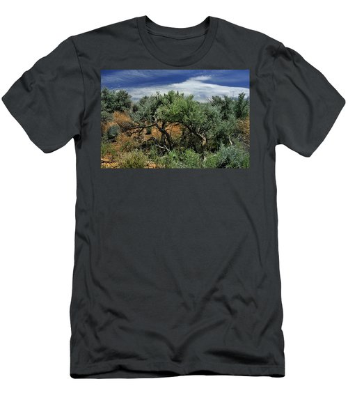 Out On The Mesa 3 Men's T-Shirt (Athletic Fit)