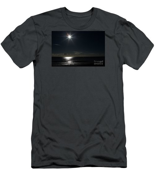 Men's T-Shirt (Slim Fit) featuring the photograph Out To Sea  by Gary Bridger