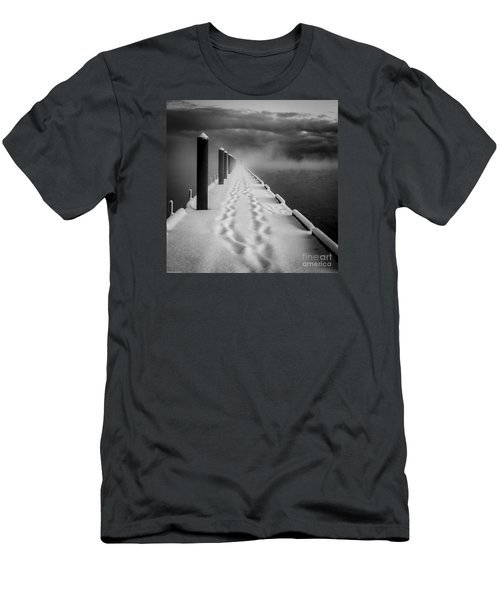 Out To The End Men's T-Shirt (Slim Fit) by Mitch Shindelbower