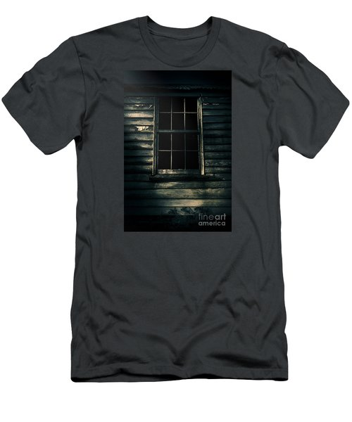 Men's T-Shirt (Athletic Fit) featuring the photograph Outback House Of Horrors by Jorgo Photography - Wall Art Gallery