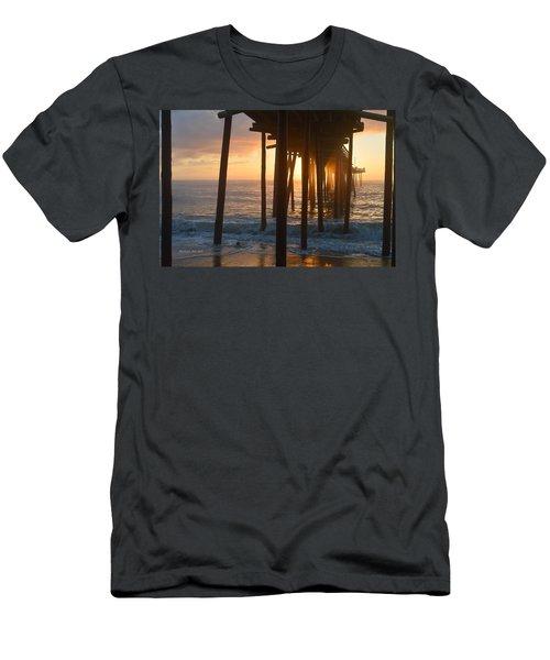 Outer Banks Pier 7/6/18 Men's T-Shirt (Athletic Fit)