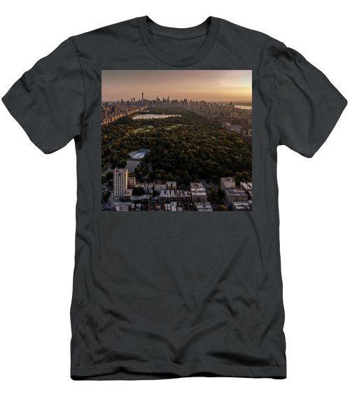 Over The City Central Park Men's T-Shirt (Athletic Fit)