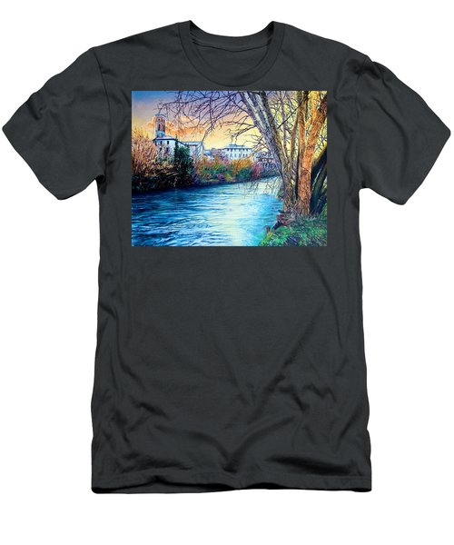 Over The River Men's T-Shirt (Slim Fit)