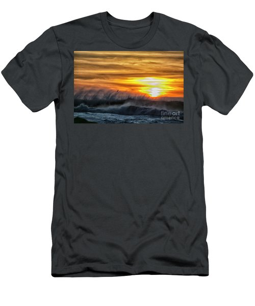 Over The Sea Men's T-Shirt (Athletic Fit)