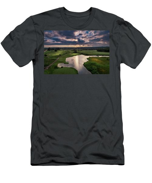 Over The Water Men's T-Shirt (Athletic Fit)