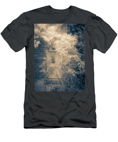 Overgrowth On Abandoned Pumping Station Men's T-Shirt (Athletic Fit)