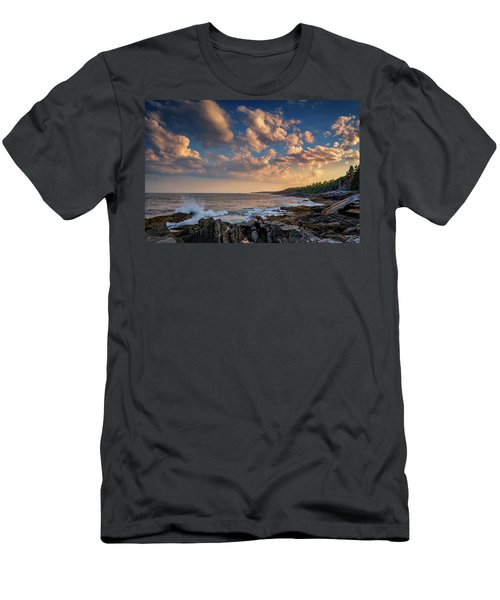 Overlooking Muscongus Bay Men's T-Shirt (Athletic Fit)