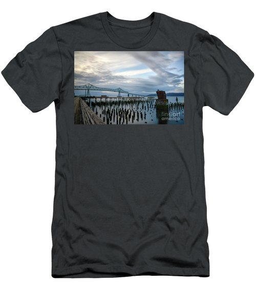 Overlooking The Bridge Men's T-Shirt (Athletic Fit)