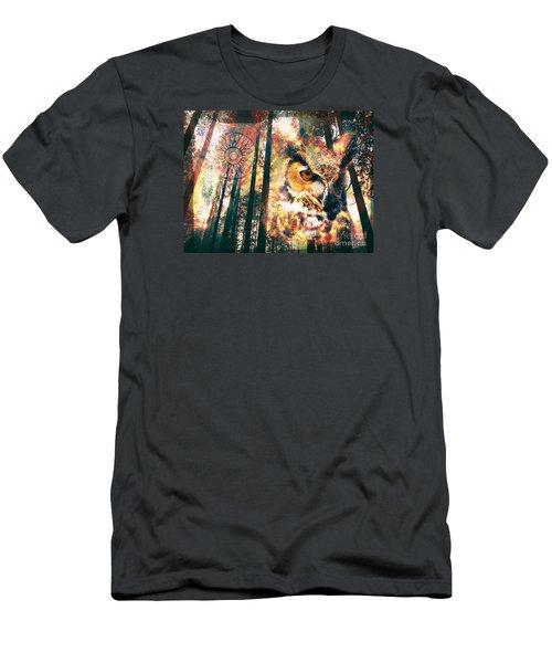 Owl Medicine 2015 Men's T-Shirt (Athletic Fit)