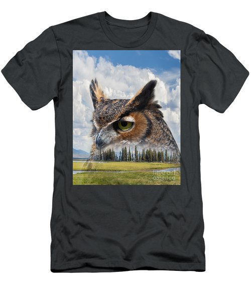 Owl's Rest Men's T-Shirt (Athletic Fit)