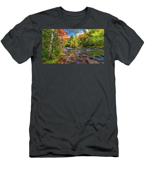 Oxtongue Rapids Men's T-Shirt (Athletic Fit)