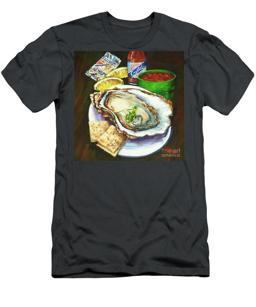 Oyster And Crystal Men's T-Shirt (Athletic Fit)