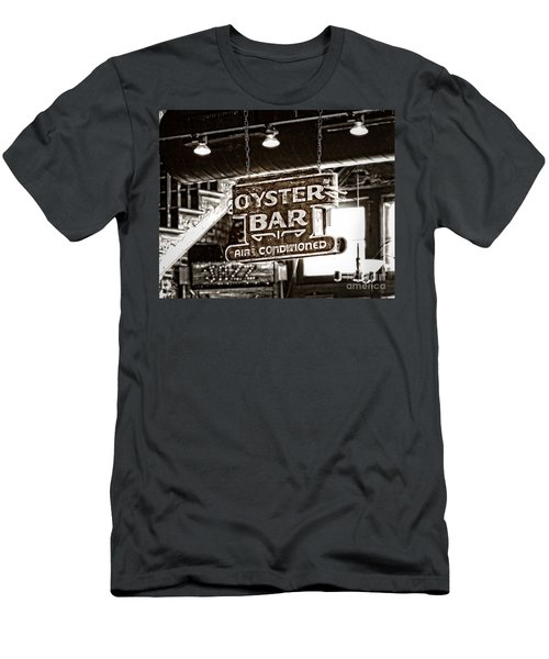 Oyster Bar Men's T-Shirt (Athletic Fit)