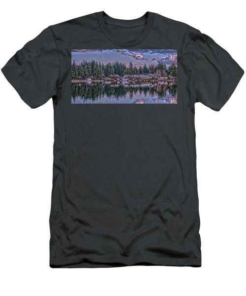 Men's T-Shirt (Slim Fit) featuring the photograph Oyster Bay 1 by Timothy Latta