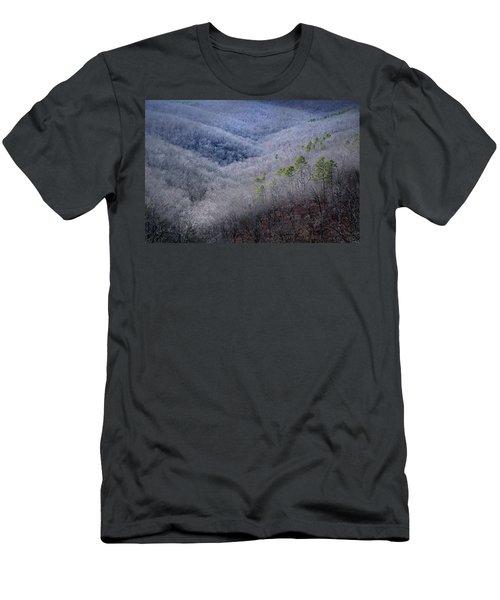 Ozarks Trees #4 Men's T-Shirt (Athletic Fit)