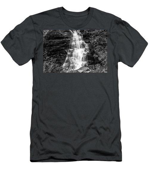 Ozone Falls - 8889 Men's T-Shirt (Athletic Fit)