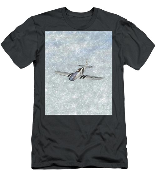 P-51 Mustang Fighter Men's T-Shirt (Athletic Fit)