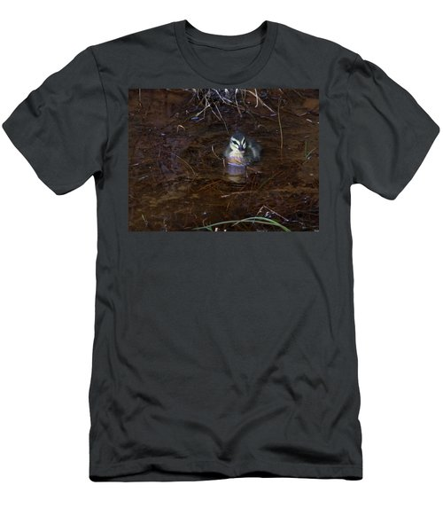 Men's T-Shirt (Athletic Fit) featuring the photograph Pacific Black Duckling by Miroslava Jurcik