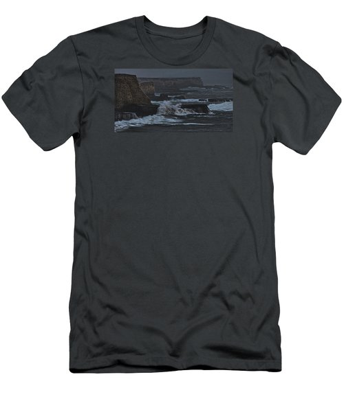 Pacific Cliffs Of Davenport Men's T-Shirt (Athletic Fit)