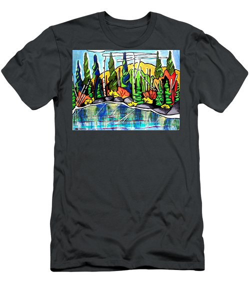 Pacific Coast Forest Men's T-Shirt (Athletic Fit)