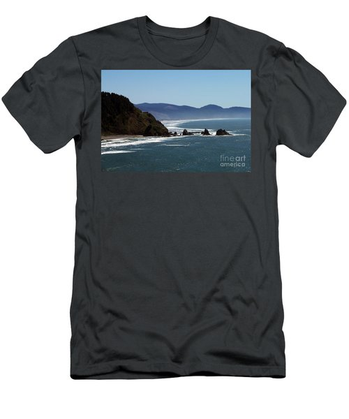 Pacific Ocean View 2 Men's T-Shirt (Athletic Fit)